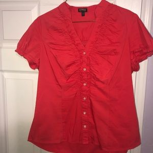 Express Short Sleeve Button Down
